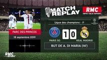 PSG 3-0 Real Madrid : Le goal replay avec les commentaires en live de RMC