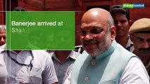 West Bengal CM Mamata Banerjee meets Home Minister Amit Shah