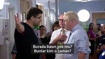 """İngiltere Başbakanı Johnson'a """"Hastanelerde hemşire ve doktor yok, buraya şov yapmaya geldiniz!"""" tepkisi"""