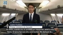 Justin Trudeau pide perdón por disfrazarse de Aladino y maquillarse en el año 2001