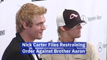 Nick Carter's Restraining Order Against His Brother
