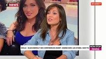 Elsa Esnoult au casting de Danse avec les stars se confie dans Morandini Live