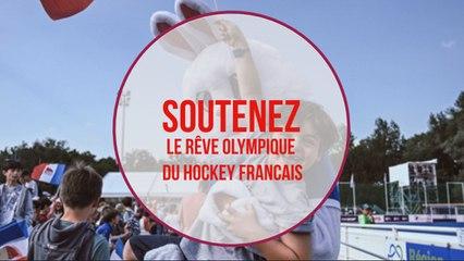 Soutenez le rêve olympique du hockey français !