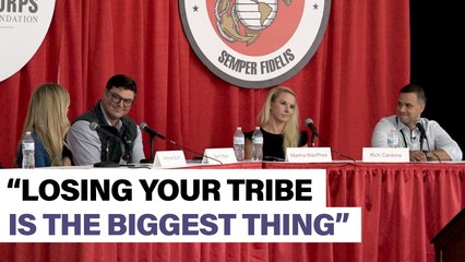 The hardest part of joining a civilian workforce - Modern Day Marine panel highlight