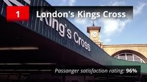 Best and worst train stations