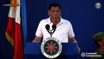 Duterte interrupted: After a fly and roach, it's a gecko's turn