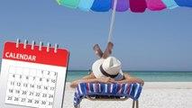 En 2020, il suffira de poser 25 congés pour avoir 60 jours de vacances