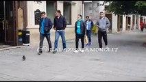 VIDEO - LAZIO CLUB ROMANIA, CORI A CLUJ CONTRO LA ROMA