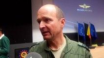 Général Major Frederik Vansina : crash de 2 F16 dans le Morbihan : Les deux pilotes se sentent bien et sont à l'hôpital pour quelques examens