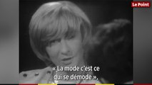 Françoise Sagan à Bernard Pivot   « Je crois que je suis un petit peu démodée maintenant  »