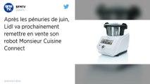 Lidl annonce le retour de son robot de cuisine Monsieur Connect en fin d'année