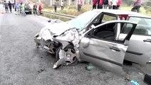 Beykoz'da zincirleme kaza 1 ölü 2 yaralı
