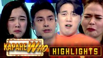 Jackque, Ion, Ryan, and Bella show off their sour-faced expression | It's Showtime KapareWho