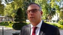 Michaël Ruiz, candidat LREM aux Municipales 2020 à Bourg