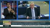 Unión Europea: Juncker alerta que un Brexit sin acuerdo es muy real