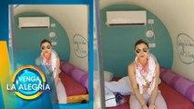 ¡INCREÍBLE! ¡Conoce este peculiar hotel donde se hospeda Tabata Jalil en Israel!   Venga La Alegría