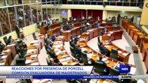 Reacciones por presencia de Porcell en comisión evaluadora de magistrados - Nex Noticias