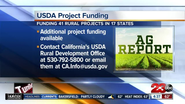 USDA funding 41 rural projects in 17 states