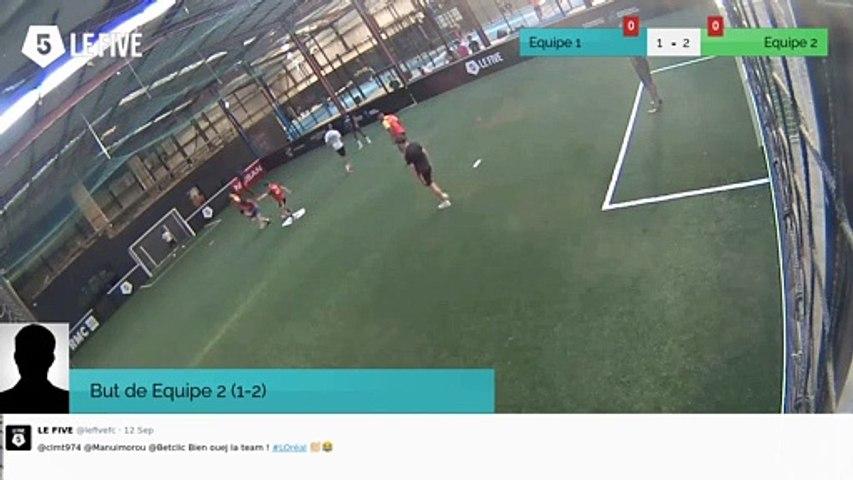 But de Equipe 2 (1-2)