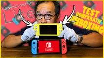 SWITCH LITE : Unboxing, Test et Comparatif de la NOUVELLE CONSOLE de Nintendo