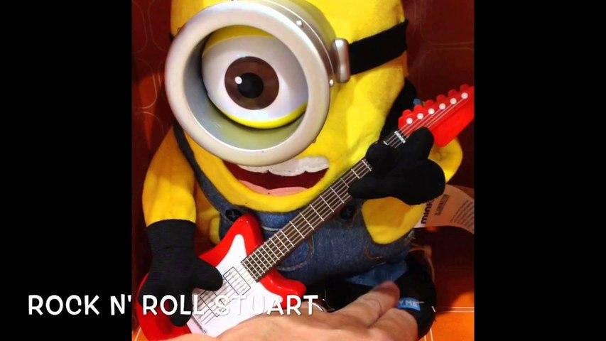 Minions Toys - Tumblin' Stuart, Rock n' Roll Stuart, Sing n' Dance  Bob