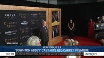'Downton Abbey' Cast Hits Red Carpet Premiere