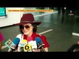 Ana Bárbara responde a las críticas por su atuendo en fiestas patrias | De Primera Mano
