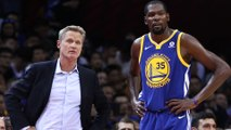 "Stephen A Smith Reveals Kevin Durant Was ""Not Feeling Steve Kerr At All"" Leading To His Exit From GS"