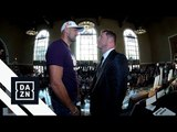 Canelo Alvarez vs. Sergey Kovalev Face-Off For First Time At Launch Press Conference