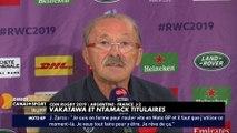 Coupe du Monde 2019 : Vakatawa et Ntamack titulaires face à l'Argentine