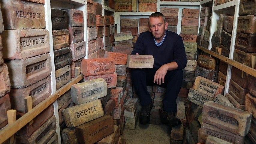 An Eccentric Brick Collector!