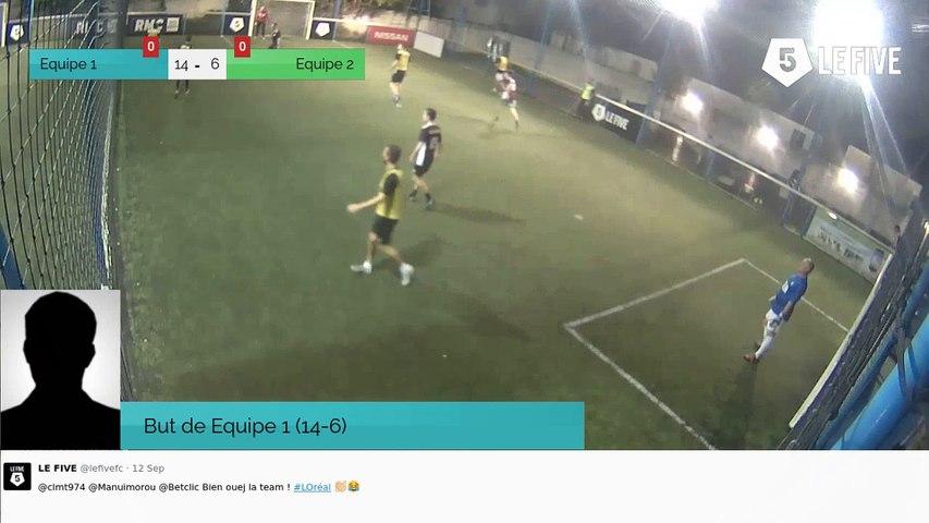 But de Equipe 1 (14-6)