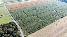 Le labyrinthe de La Pocatière est le plus grand au monde