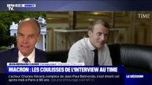 Macron: les coulisses de l'interview au Time