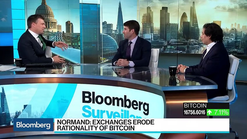 JPM's Normand Says Exchanges Erode Bitcoin Rationale