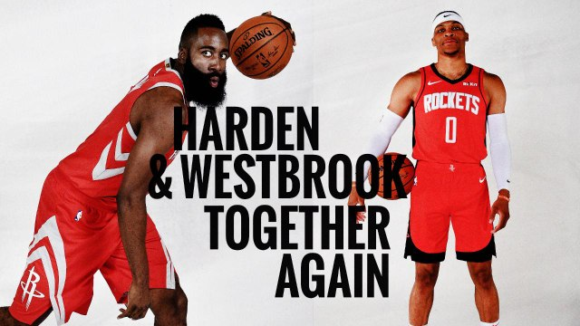 Harden and Westbrook together again | Houston Rockets