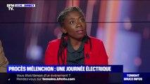 """Danièle Obono (LFI): """"il y a eu beaucoup de contradictions révélées entre les motifs d'accusation et les déclarations"""" des policiers"""