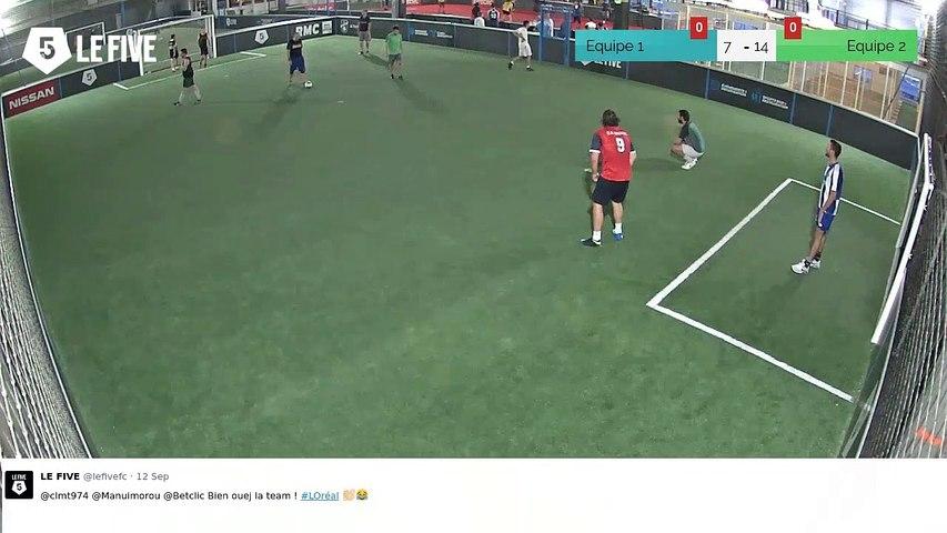 But de Equipe 1 (9-15)