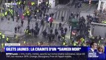 """Gilets jaunes: la crainte d'un """"samedi noir"""""""