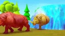 Los animales de granja y sus crías se convierten en animales salvajes y entran al granero