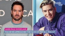 Mark-Paul Gosselaar 'Was Never Approached' for 'Saved by the Bell' Reboot: 'I Woke Up to the News'