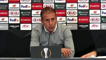 Slovan Bratislava  - Beşiktaş maçının ardından - Beşiktaş Teknik Direktörü Abdullah Avcı