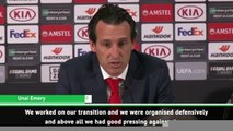 Unai Emery's press conference interupted by Frankfurt's stadium announcer