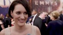 Phoebe Waller-Bridge Was Writing in Her Limo On Her Way to Red Carpet | Emmys 2019