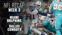 Week 3: Cowboys take down Dolphins