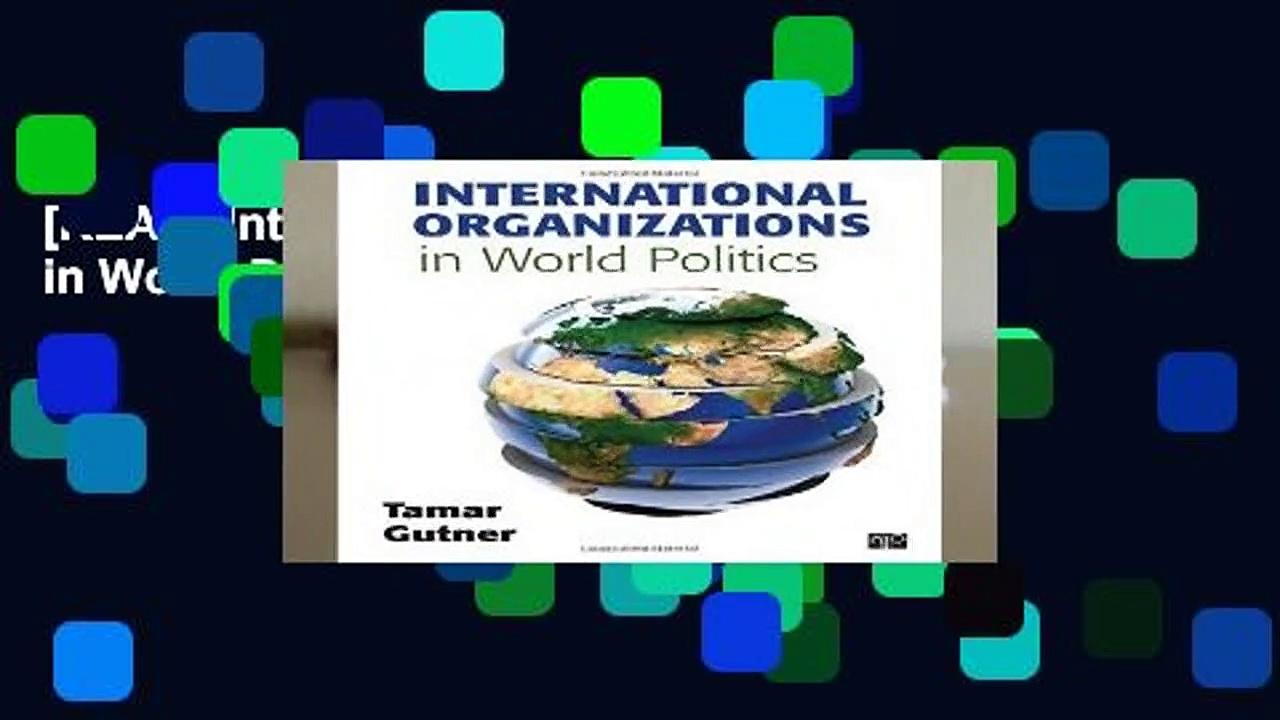 [READ] International Organizations in World Politics