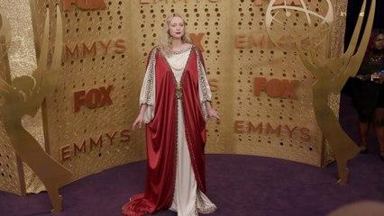 Gwendoline Christie Emmys Red Carpet 2019