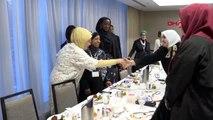 New york - emine erdoğan, abd'li müslüman toplumun kadın temsilcileriyle buluştu