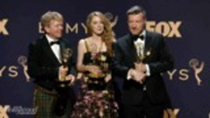Charlie Brooker Talks 'Black Mirror: Bandersnatch' Win For Outstanding Television Movie | Emmys 2019