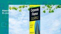 About For Books  Corporate Finance for Dummies  For Kindle